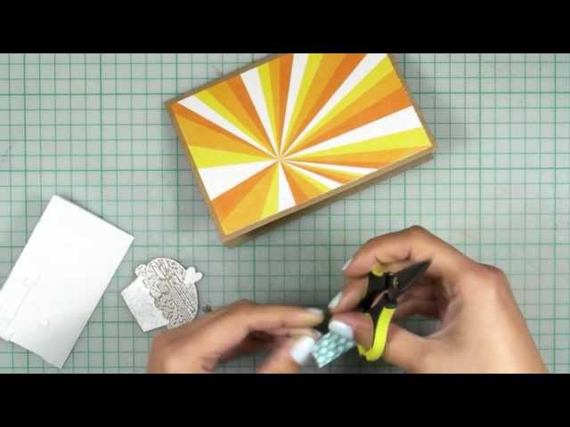 How-to video : Birthday Card