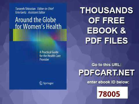 Around the Globe for Women's Health A Practical Guide for the Health Care Provider