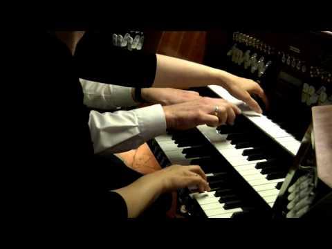 Orgel,vierhändig Maurice Ravel Bolero