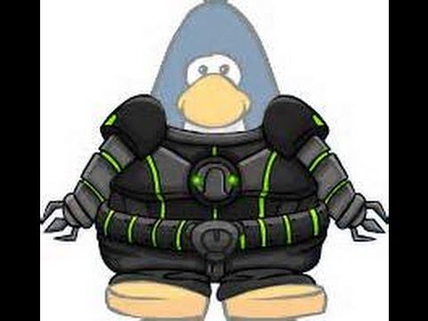 como ter roupa de robo tuturial cb(club penguin)