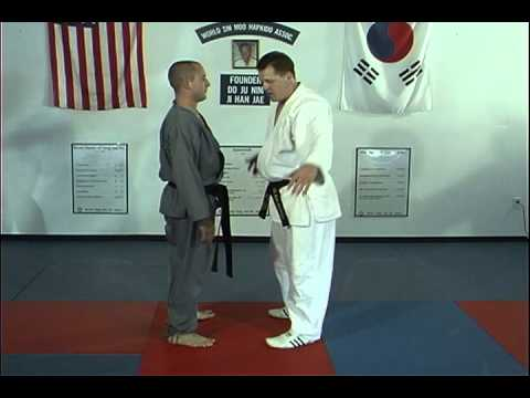 Hapkido Front Bear Hug Under Arms Techniques 1 thru 4, Ji Han Jae Image 1
