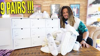 I WAS SENT A PACKAGE WITH 9 SNEAKERS INSIDE !!! MASSIVE SURPRISE SNEAKER UNBOXING