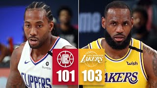 LA Clippers vs. Los Angeles Lakers | 2019-20 NBA Highlights