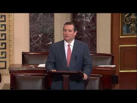 Sen. Ted Cruz Gives Floor Speech on King v. Burwell SCOTUS Decision