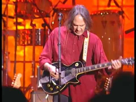 Neil Young Performs &quot;Act of Love&quot; and &quot;F*!#in&#39; Up&quot; at the 1995 Inductions