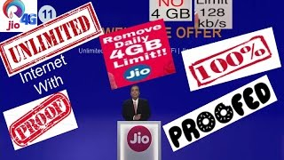 3 Best  Ways To Use Jio Unlimited Internet After 4Gb 100% Working[proof]