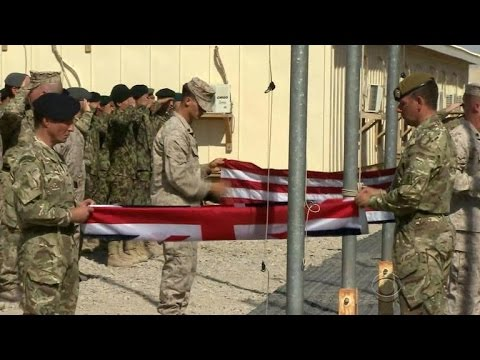 U.S. Marines, British forces end combat mission in Afghanistan
