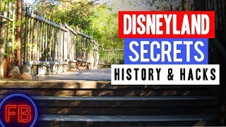 Secret Path at Harbor Galley - Disneyland Secrets and History