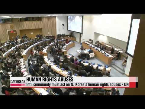 """""""Int'l community must react to North Korean human rights abuses"""": UN monitor"""