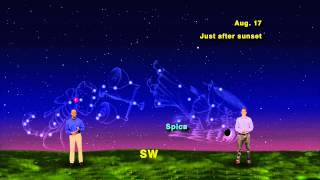 """Star Gazers """"From Virgo To Scorpius, The Moon Sure Gets Around"""" 1 min version"""
