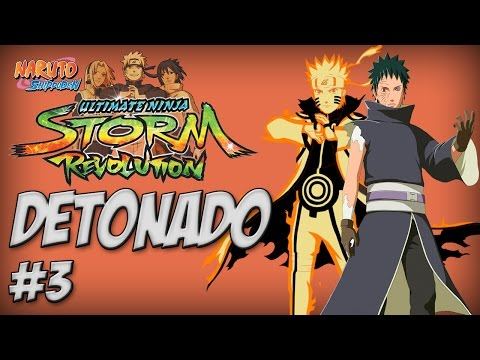 Naruto Ninja Storm Revolution, Detonado #3 Fim Do Torneio Rank D Naruto Wins - Nillo21. video