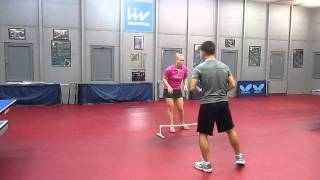 FENERBAHÇE TABLE TENNIS YANA NOSKOVA  PHYSICAL EXERCISE 8