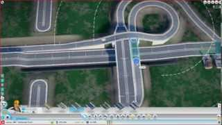 how to build an intersection in simcity