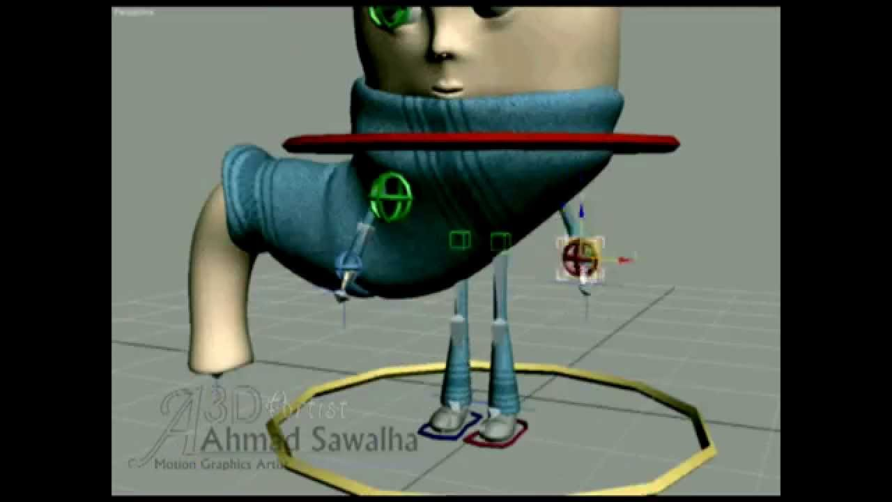 Stomach Cartoon Character - YouTube