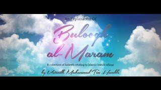 Buloogh al Maram – Book of Salah – Class 19 on 01/02/2017