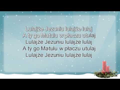 Kolęda - Lulajże Jezuniu - Z Wokalem ( Www.letsing.pl )
