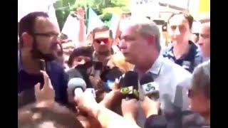 Ciro Gomes vs Repórter
