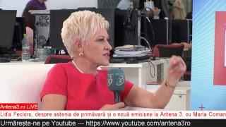 download musica Antena3ro LIVE: Lidia Fecioru despre motivul tuturor bolilor și o nouă emisiune la Antena 3