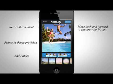 Instanty for iPhone - The best photos from your video