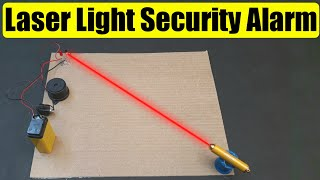 How To Make A Laser Light Security Alarm System