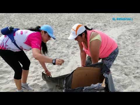 Basura que predomina en la playa es de alcohol
