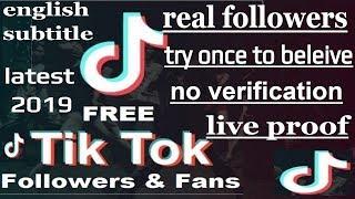 How to increase musically / Tik Tok Followers with proof ( nov.2019) | no survey |no app.