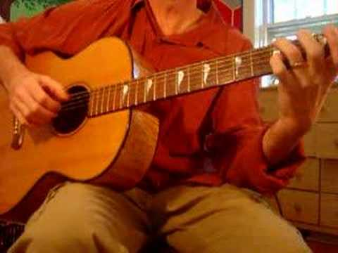 Guitar tutorial: Kathy's Song by Simon & Garfunkel Video