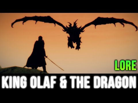 Skyrim Lore - King Olaf and the Dragon (Book Reading)!
