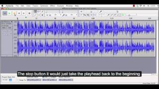 Audacity Tutorial 1: How to import an audio file