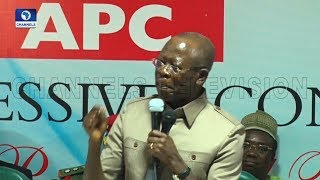 We Do Not Want Staggered Elections, Oshiomhole Tells INEC |Full Speech|
