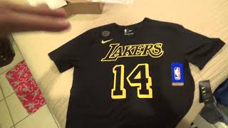 Los Angeles Lakers Brandon Ingram Player Shirt Unboxing/Review