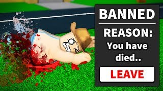 ROBLOX BUT IF YOU DIE YOU'RE GONE FOREVER...