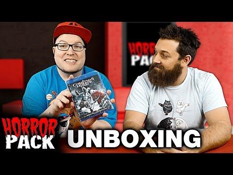 Horror Pack December 2016 Unboxing! - Horror Movie Subscription Box