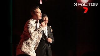 Davey performs 'Angels' with Robbie Williams - The X Factor Australia 2016