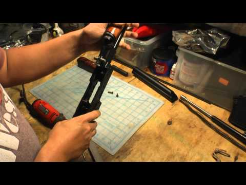 Saiga 7.62x39 Rifle - AK handguard and stock conversion (1080p HD)