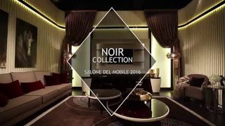 Turri - Noir Collection @ Salone del Mobile 2016 - italian luxury design furniture