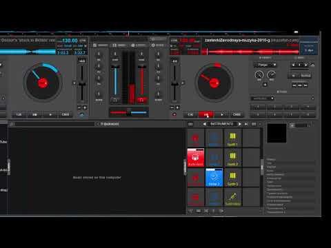 Как создать трек и сохранить в virtual dj 8