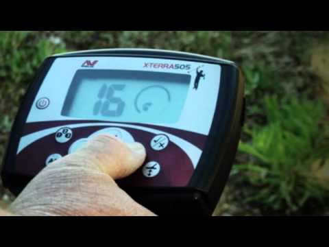 Getting Started with the Minelab X-TERRA 505 adventure detector