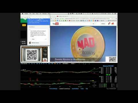 MadBitcoinsTV -- Livestream -- #002 -- Oct 20, 2014 - #bitcoin #news #live #test