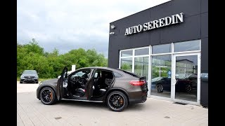 MERCEDES-BENZ GLC 63 AMG S COUPE BROWN MATT CARBON FULL AUTO SEREDIN GERMANY