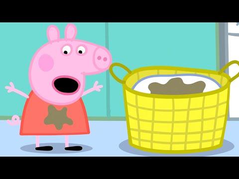 Świnka Peppa ⭐ Pranie ⭐ Bajki Po Polsku | Peppa po Polsku