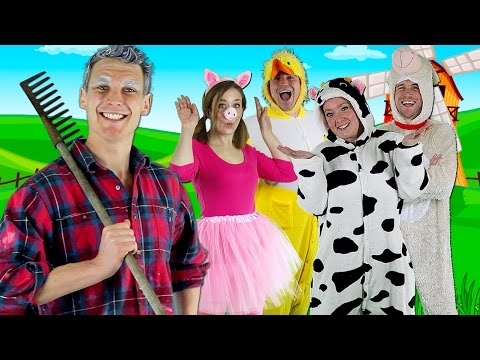 Old Macdonald Had A Farm - Kids Nursery Rhymes video