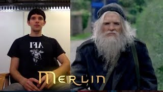 Merlin - Series 5 - Behind the Scenes - Colin Morgan Transforms into Emrys (2012)