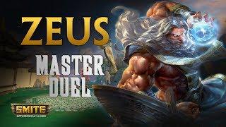 Zeus, Ya habiamos calentado el matchup - Smite Master Duel S6