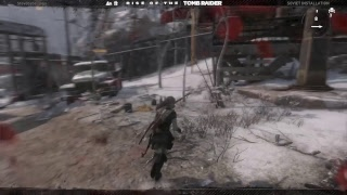The Rise of the Tomb Raider Extreme Survivor checkpoint 6