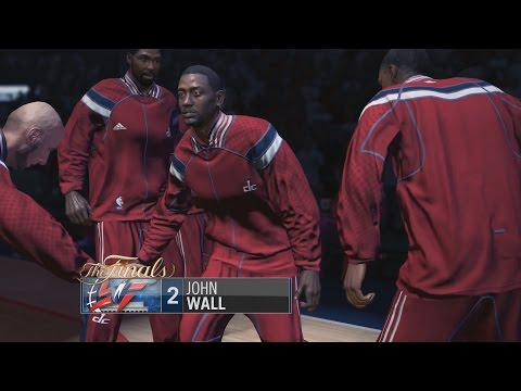 NBA LIVE 15 - Xbox One Gameplay: Washington Wizards v Oklahoma City Thunder [1080p HD]