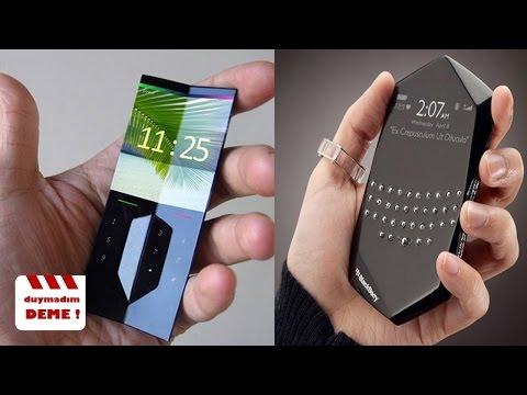 Var Olduğuna İnanamayacağınız 5 Cep Telefonu