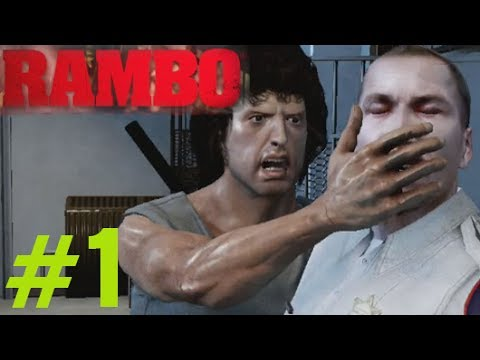 Rambo The Video Game Walkthrough Chapter 1 (1982) - Rambo Videogame 2014 Gameplay Part 1 video