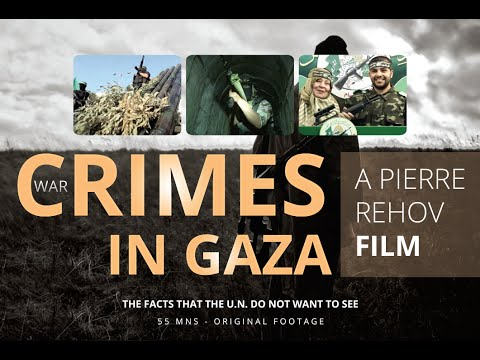 War Crimes In GAZA ( by Pierre Rehov )