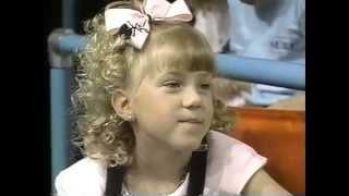 Jodie Sweetin interview 1989. Age 7